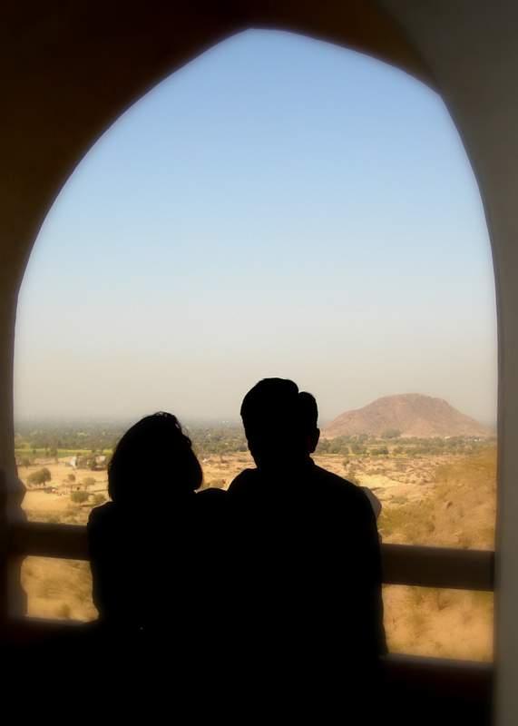 At a fort near Delhi